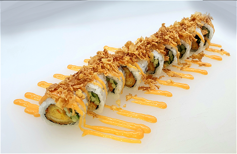 Foto Crunchy Dragon roll 9st