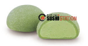 Foto Green Tea Mochi ice cream